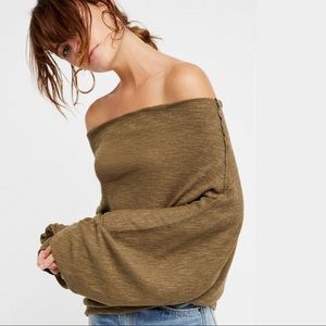 FREE PEOPLE- We the Free Skyline Thermal NWT